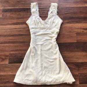 Dresses & Skirts - Super Cute Crochet Like Summer Dress